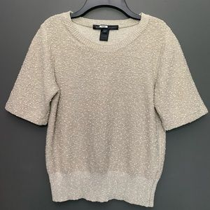 Marc by Marc Jacobs Slate Grey Multi Sweater Top